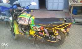 Bajaj boxer bm 150. In good condition, just buy and drive.