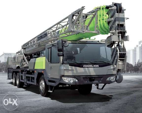 Zoomlion Mobile Crane and Heli Wheel loader For Sale