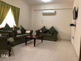 Nice and spacious 2 bedroom F/F flat in Mansoura