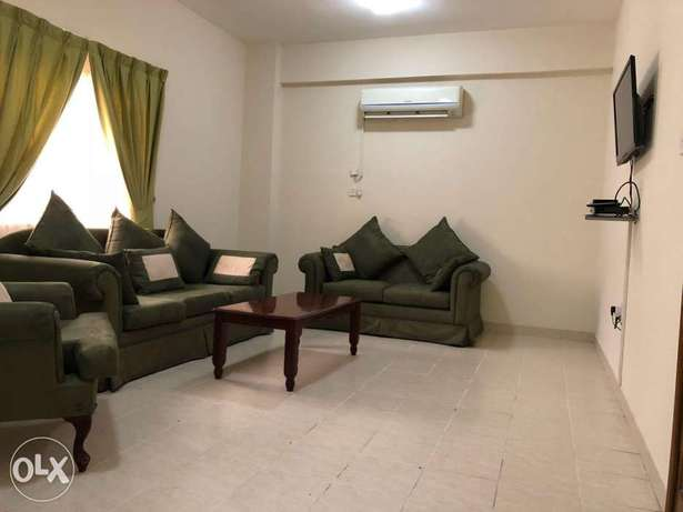 Spacious 2 bedroom 5500qr F/F in Mansoura