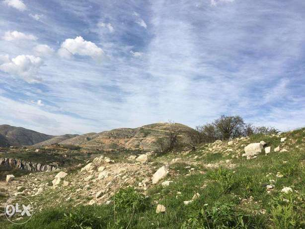 WONDERFUL Land in Fakra with AMAZING Viewأرض في فقرا ٥٩٠ م٢ فقرا -  2