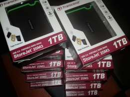 1TB External hard drive USB 3 sealed in boxes