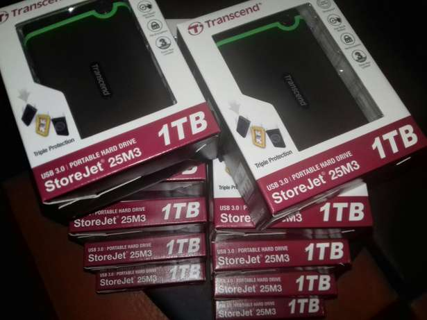 1TB External hard drive USB 3 sealed in boxes Newcastle - image 1