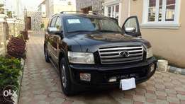 A clean Infinity Jeep full Auction American spec Nigerian use in Abuja
