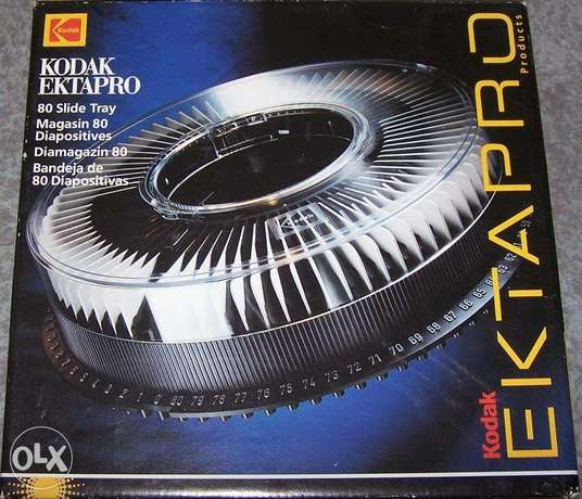 kodak ektapro 80 slides rack boxed