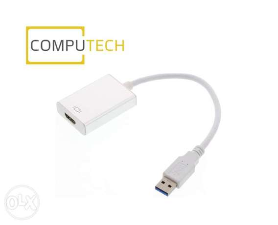 USB to HDMI Converter Video Adapter 3.0 Full HD