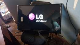 30 inches flat screen led LG TV with in built decoder