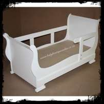 Sleigh Toddler Bed - Brand New