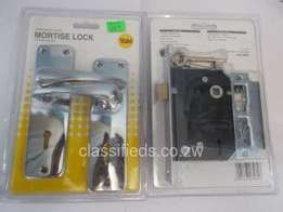 Blister packs for mortice locks with handles