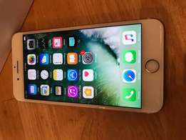 Apple iPhone 7 plus in box ,128gb,gold color for sale