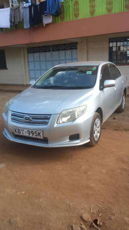 Toyota axio 2007 model, silver colour, accident free, low mileage Sagana - image 5