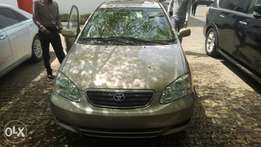 2007 foreign used corolla, toks