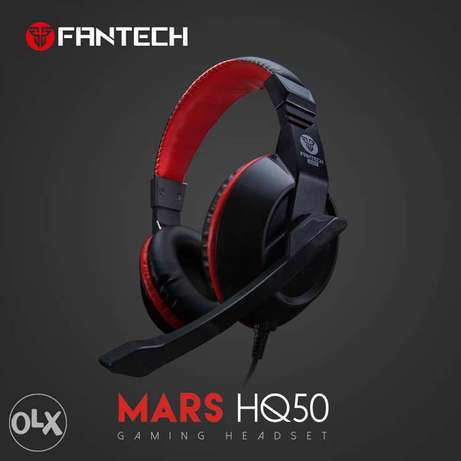 (1$=1500) FANTECH HQ50 Mars Gaming Headset