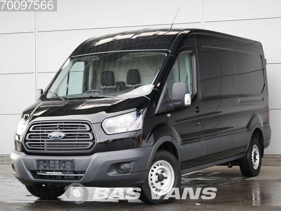Ford Transit 2.0TDCI 350L Nieuw 130PK Airco 3 Zits Leren stuur... - 2019