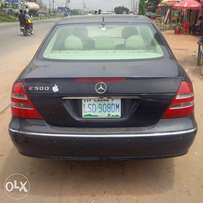 Registered neatly used 03/04 Benz E500