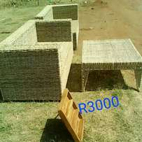Weaved chairs for sale