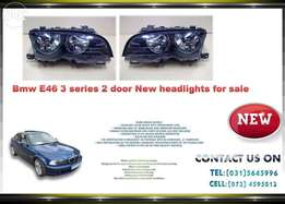 Bmw E46 3 series 2 door headlight for sale Price:R1895 each