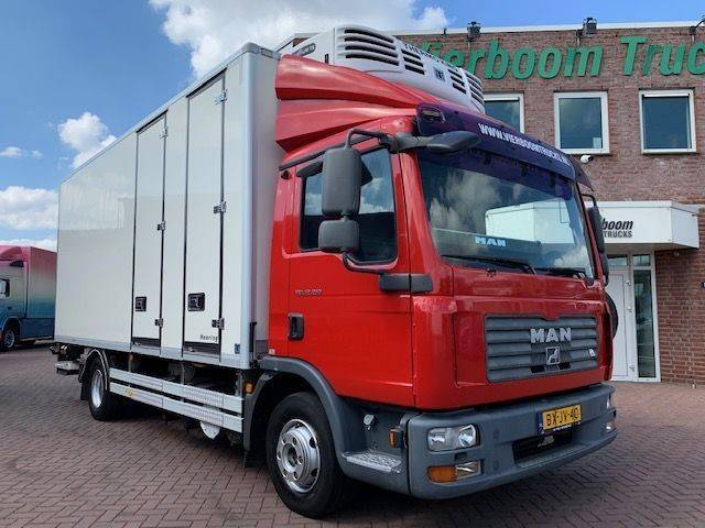 MAN TGL 12.210 KUHLKOFFER THERMOKING MULTI TEMP HOLLAND TRUCK - 2010
