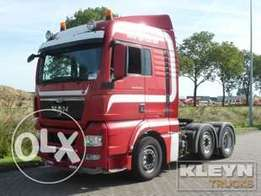 MAN 26.440 TGX - To be Imported