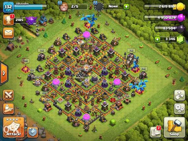 Th11 near max account with 3340+ gems.
