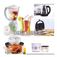 kenwood blender+halogen oven+ kettle+ toaster + rice cooker