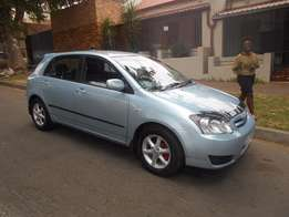 Toyota Runx 1.4 RT 2006 model Blue in color 75000km R79000