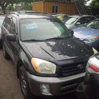 First Quality Tokunbo Toyota RAV4, 2003. Very Okay To Buy From GMI.