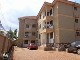 2bedrooms 2bathrooms luxurious apartment for rent in Kyebando at 450k