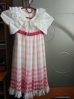 b35da799ccd517 Шикарне нарядне, плаття, платье Olix з болеро у стані нового, 116 ріст