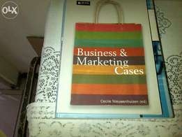 prestine condition unisa business&marketing cases text book for sale.