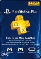 Playstation Plus PSN 12 Month Subscription