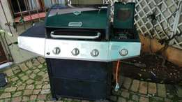 Gas braai and stove at a bargain