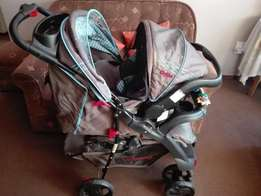 Bargain, Celino pram and car seat