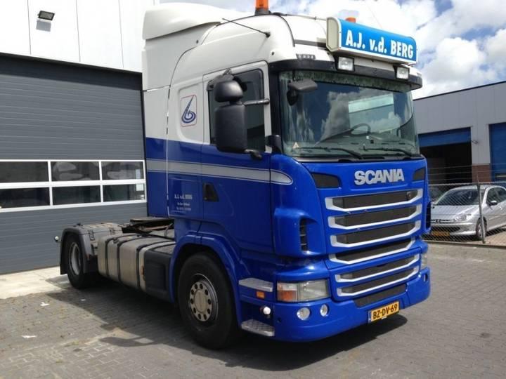 Scania R480 Manual Retarder - 2011