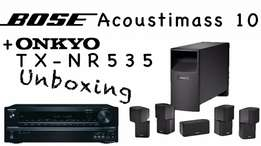 Bose Accoustimass 10 Series IV And Receiver