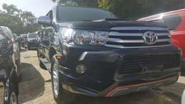 Clean Toyota Hilux-double cabin Pick-up 2011 model up to 80% finance.