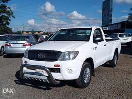 Toyota Hilux Single Cab. Available on both Cash and Asset financing.