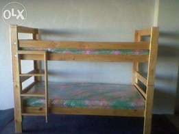 Double Bunk with Mattresses R2299.00