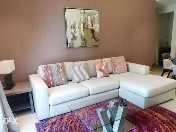 Modern Style 1 BR FF Apartment in Juffair For Rent جفير -  3