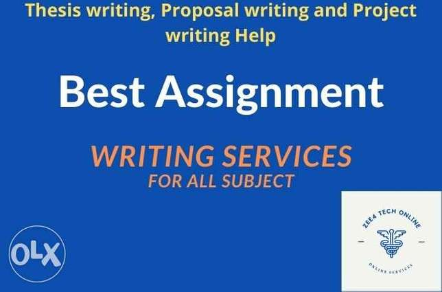 Essay and all subject Assignment solution services