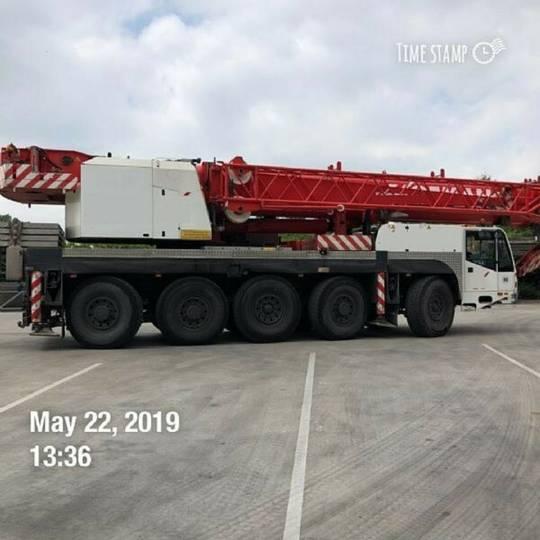 Demag AC 100 telescopic crane