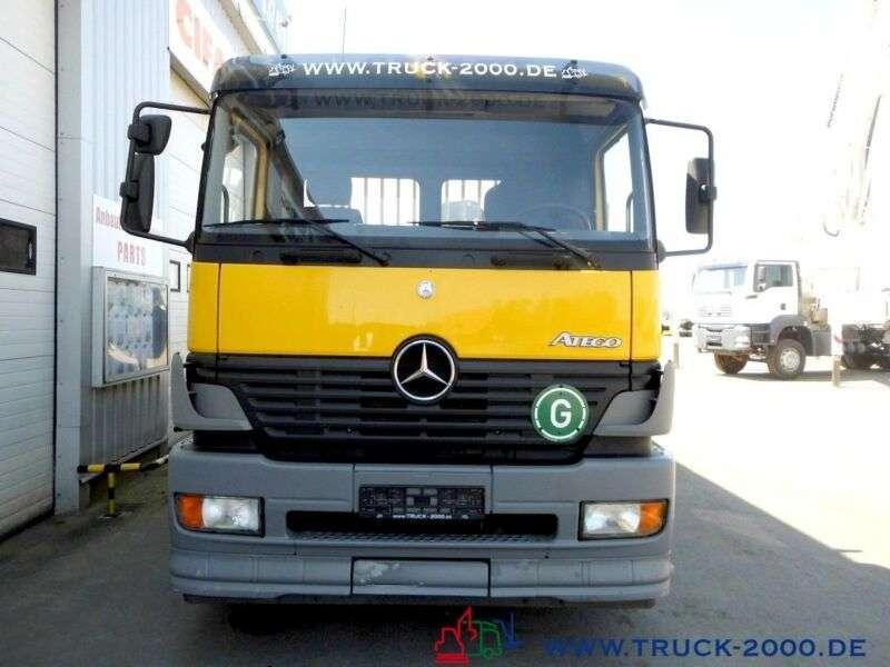 Mercedes-Benz 1828 PK 11502 7,9m=1,2t.*5.+6.Steuerkreis*1.Hand - 2004 - image 9