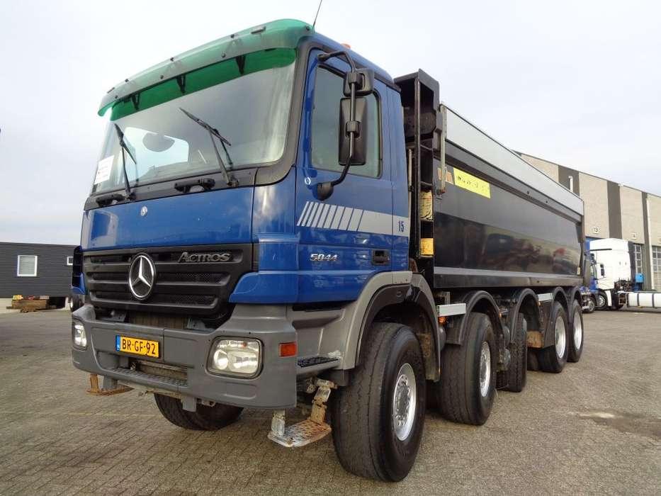 Mercedes-Benz Actros 5044 + MANUAL + KIPPER + 23 M3 + CAMERA - 2005