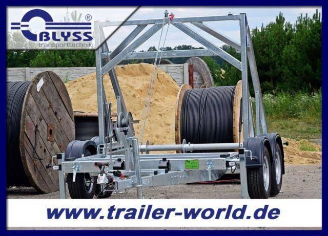 Blyss Kabeltransportanhänger 475x232x217 cm 3000kg GG