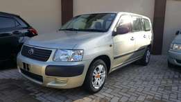 Toyota succeed wagon beige kcl with alloy rims and audio server