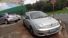 2006 model toyota corolla 140i gle gold in colour for sale