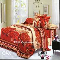 Bedsheet And Duvet With 4 Pillow Case