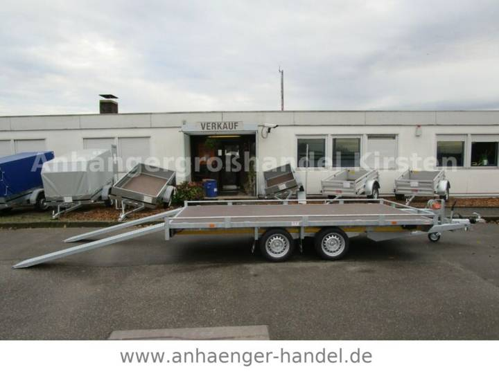 Eduard 4020 Rampen+Winde 4,06x2m 13Zoll 2,7 t AKTION - 2019