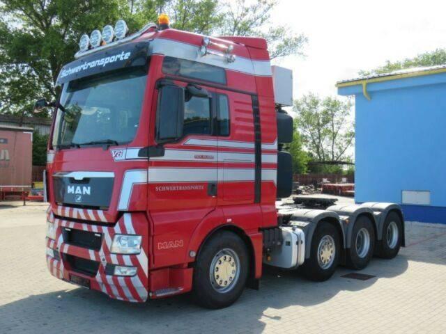 MAN TGX 41.680*8x4*V8*250 ton*WSK*EURO5*AUT*INTARDER - 2009