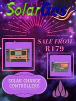 Solar charge controllers, regulators from only R179